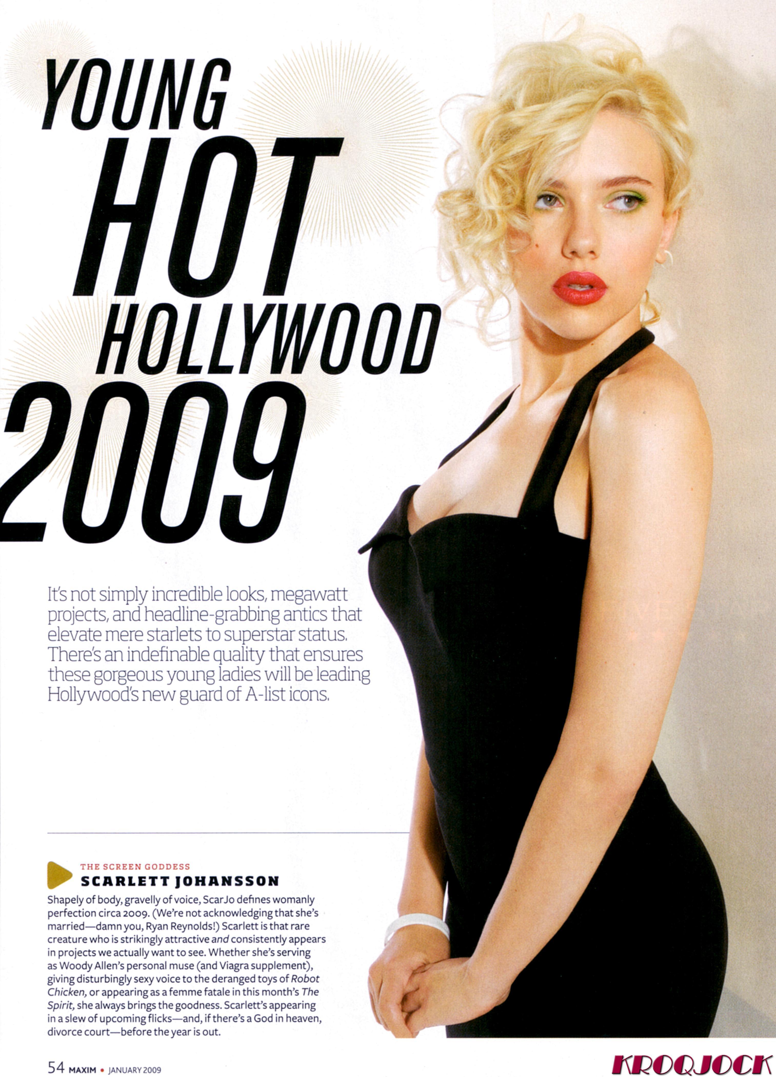 Scarlett johansson maxim porn pic