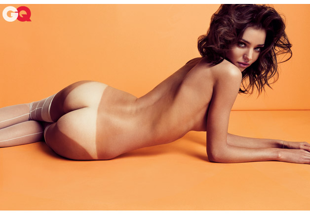 Miranda kerr in the nude
