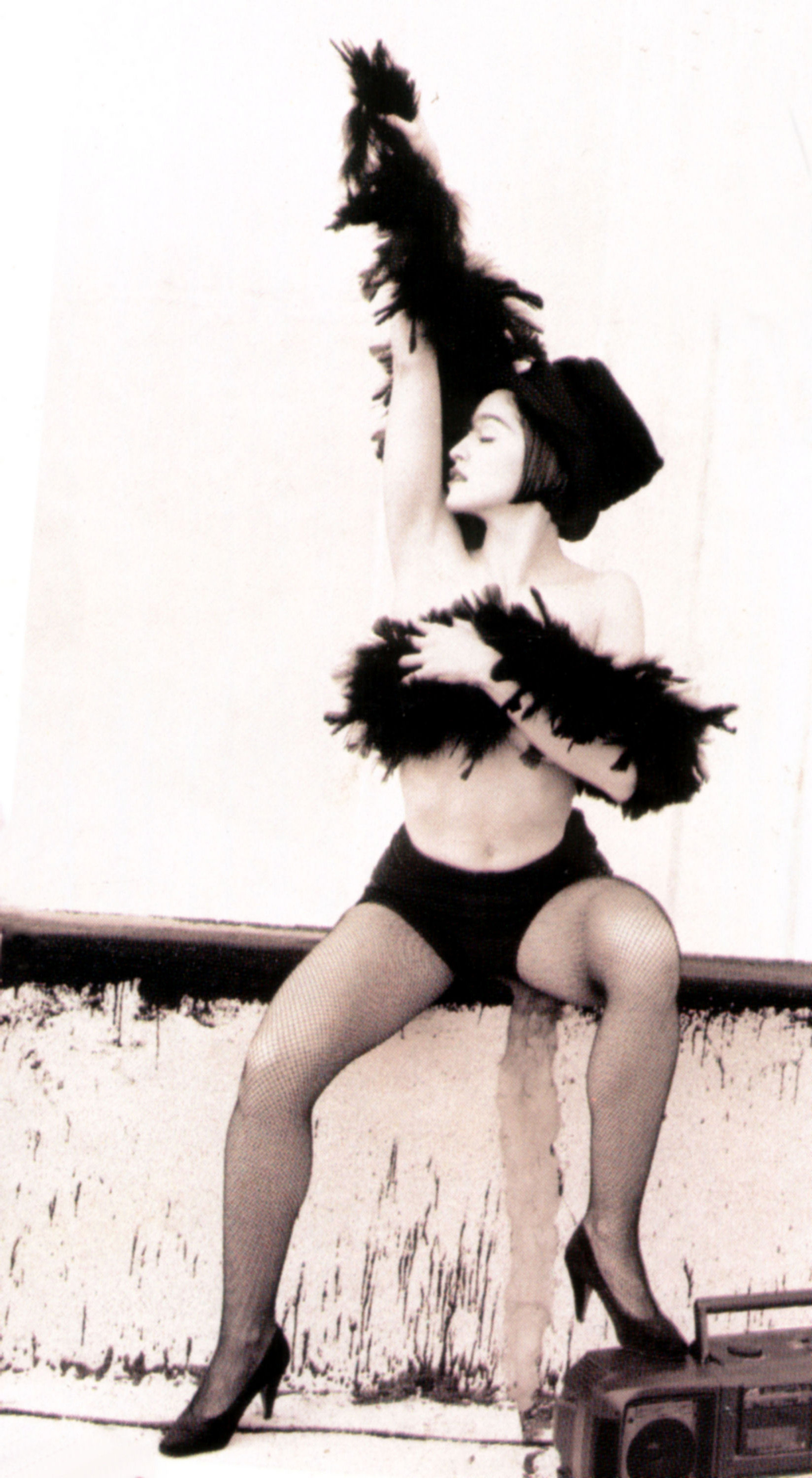 Madonna the immaculate collection photoshoot